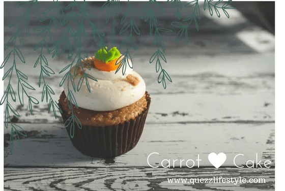 A delightful Tea partner; The Carrot Cake