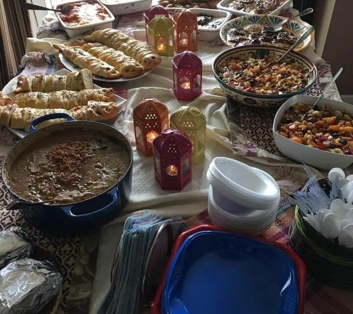 Being a Gracious Potluck Guest