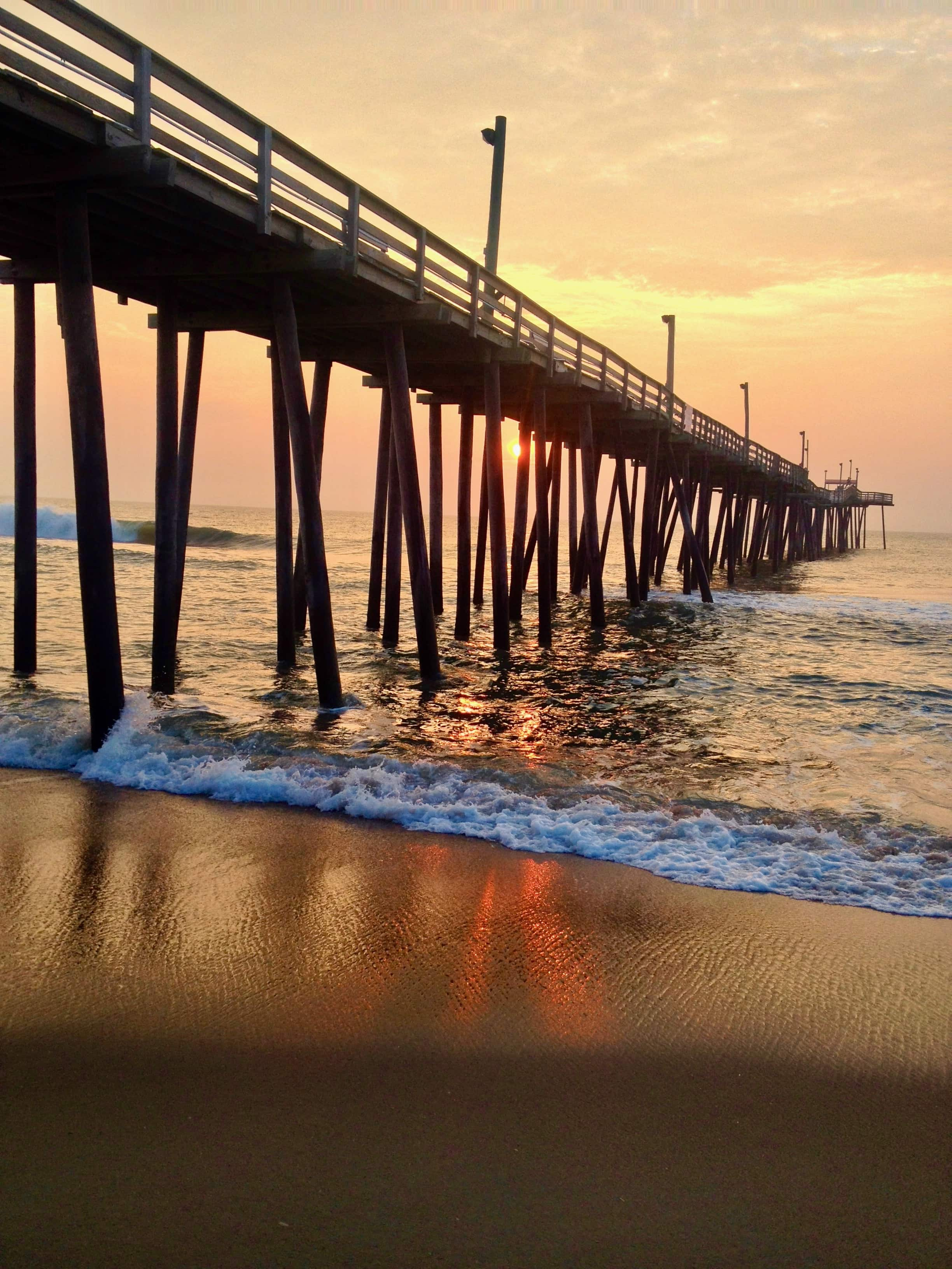 Rodanthe fishing pier at the Outer Banks, NC