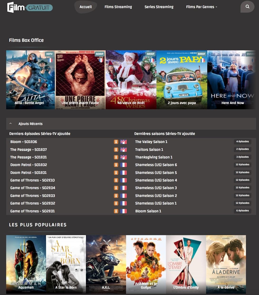 Voir des films complets en streaming et en HD