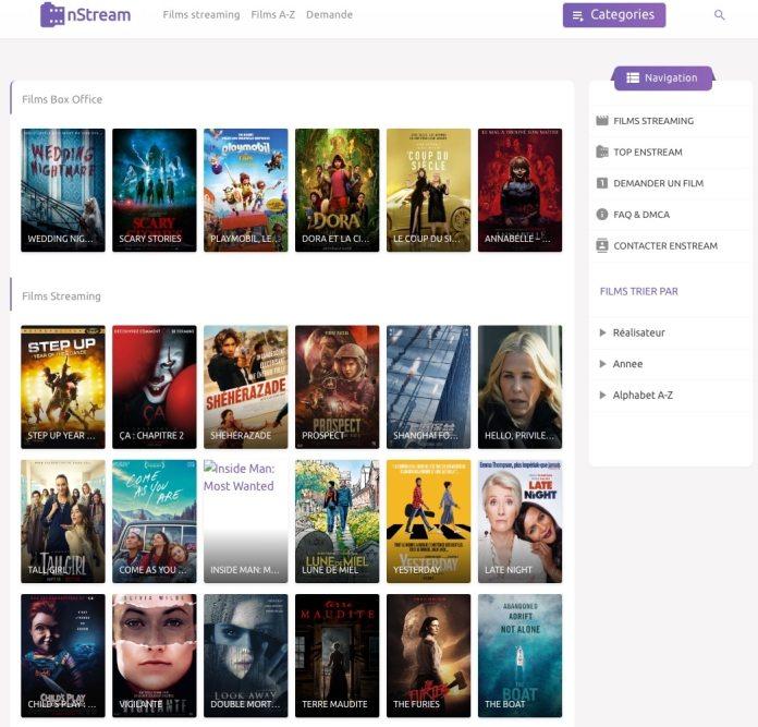 Enstream est un site de films de streaming qui vous permet de regarder des films sur internet sans les télécharger et sans attente.