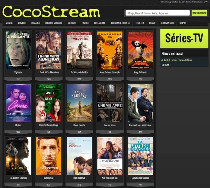 CocoStream libéré le streaming qui est en vous. De nombreux films récents, une multitude de liens.