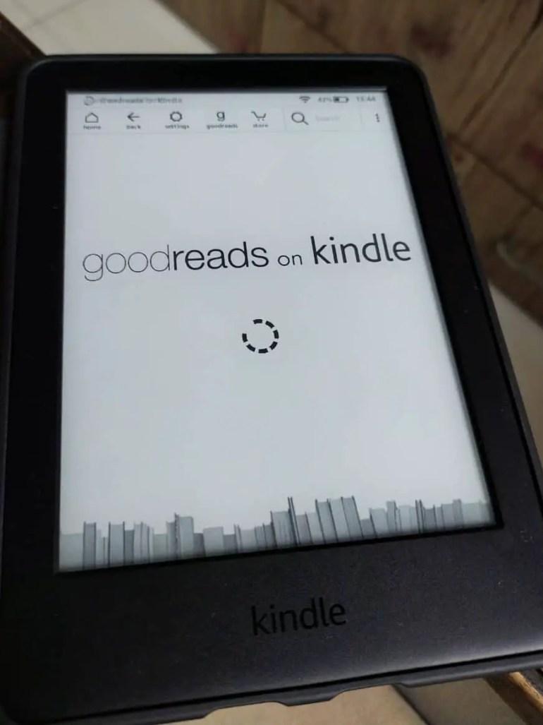 Kindle Goodreads integration