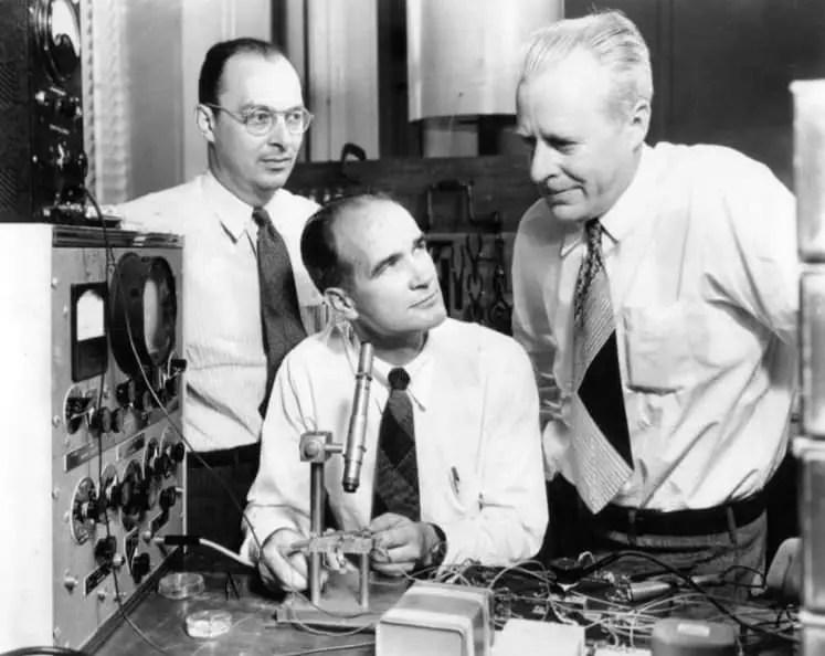 John Bardeen invention of transistor