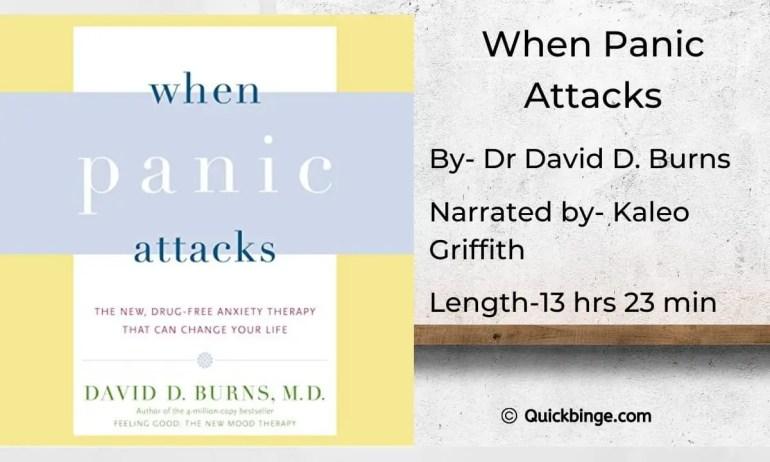 When Panic Attacks by David D. Burns