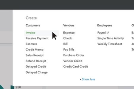 Set Up and Use Payments in QuickBooks Now you can ask for payment on invoices     and even include a Pay Now button