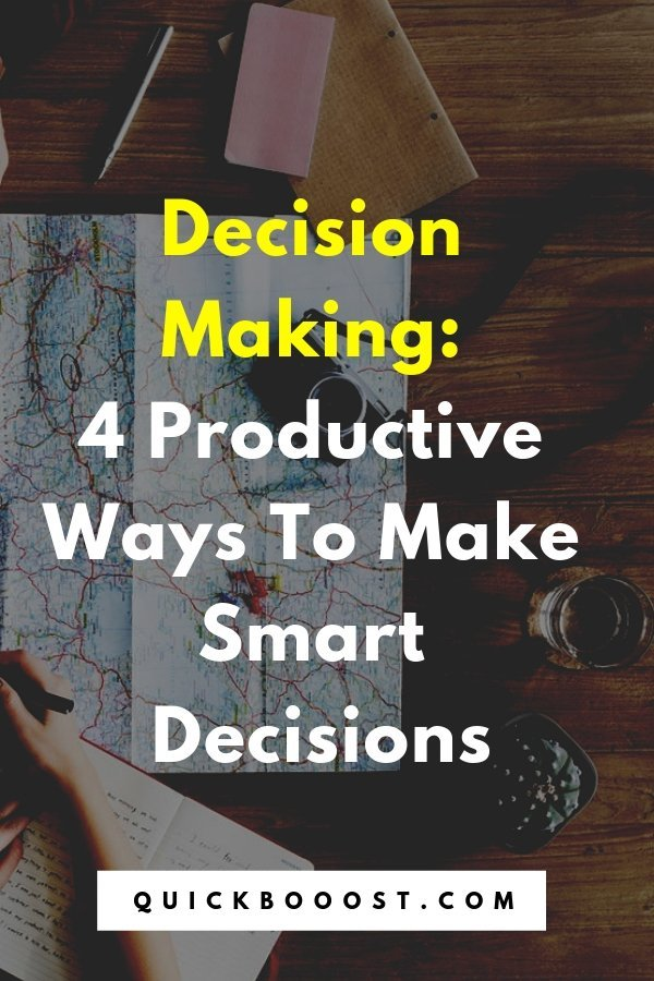 Become a decision making pro! Take a look at these productivity tips and tactics and start making better decisions. It's time for some productive decision making!