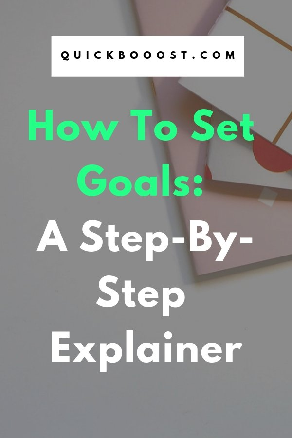 Take your goals to the next level! Learn how to set goals like never before and start working towards your ideal life. Use this step-by-step explainer to make it happen.