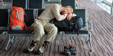 Problemas com o voo