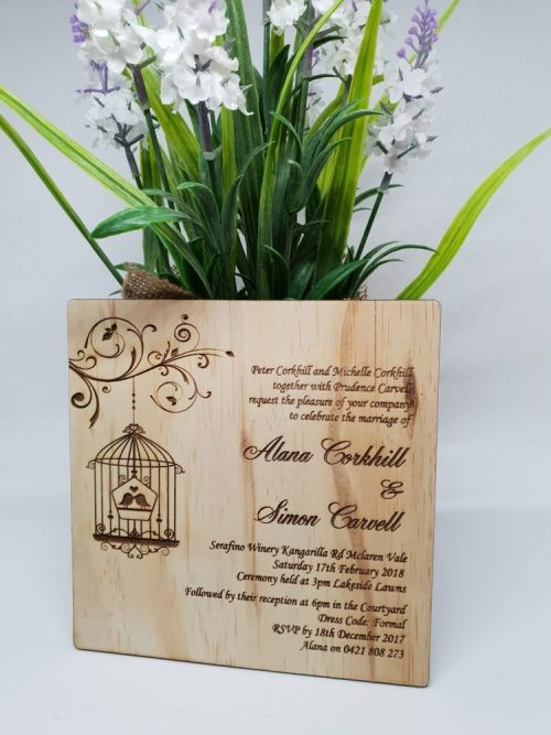 Birdcage Invitation