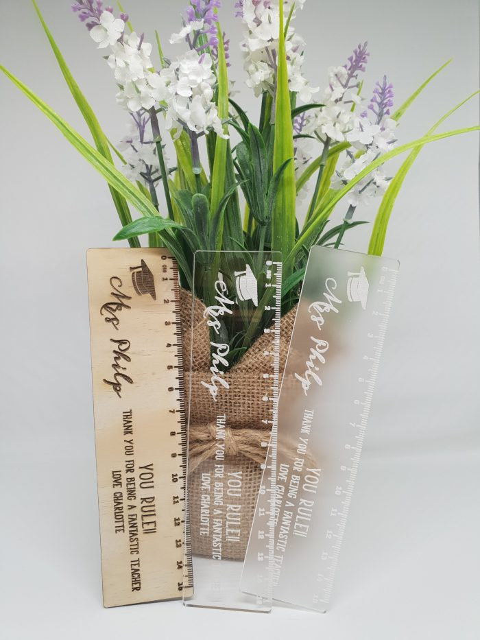 Ruler Teacher Gift