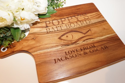 Fishing Chopping Board