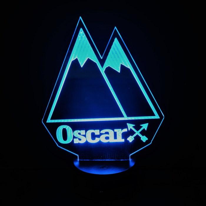Blue Mountain Nightlight