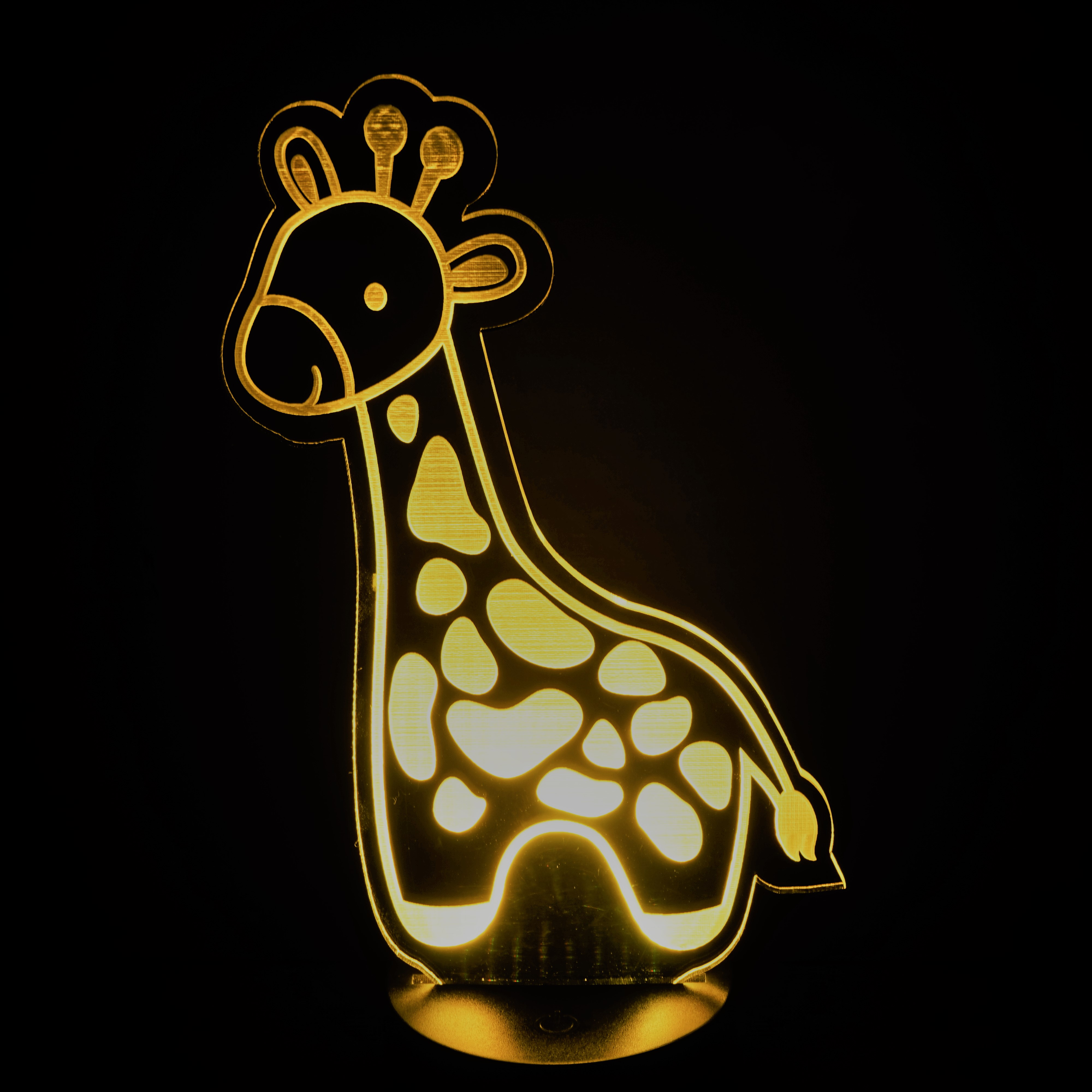 Yellow Giraffe Nightlight