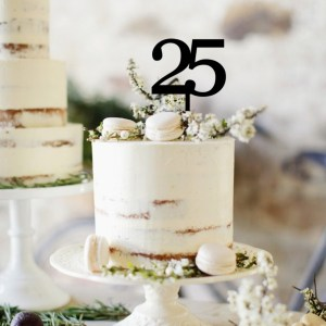 Quick Creations Cake Topper - 25