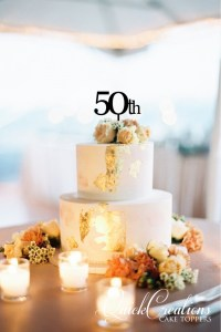 Quick Creations Cake Topper - 50th
