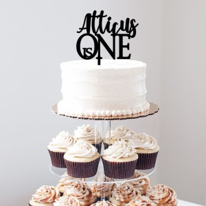 Quick Creations Cake Topper - Atticus is One