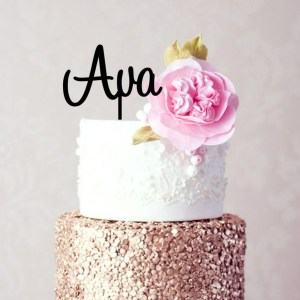 Quick Creations Cake Topper - Ava