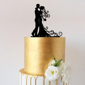 Quick Creations Cake Topper - Bride & Groom