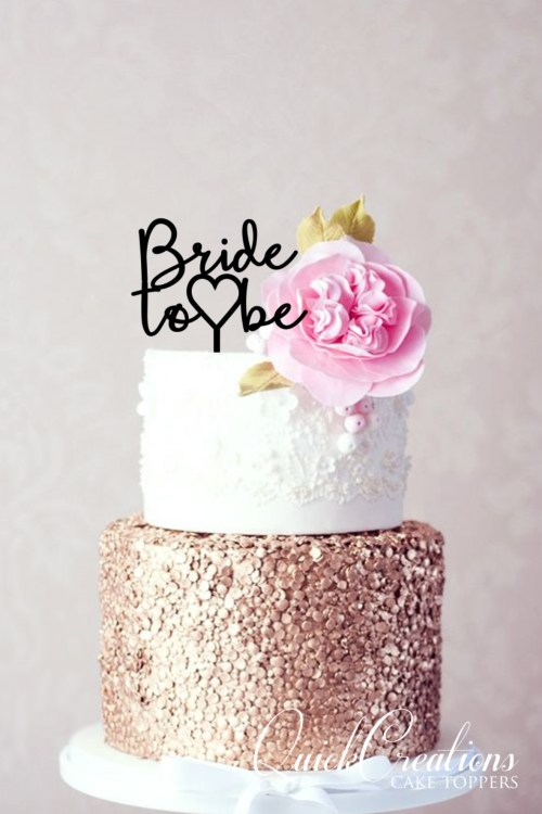 Bridal Shower Cake Toppers