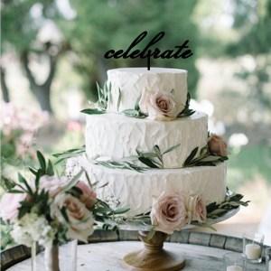Quick Creations Cake Topper - Celebrate
