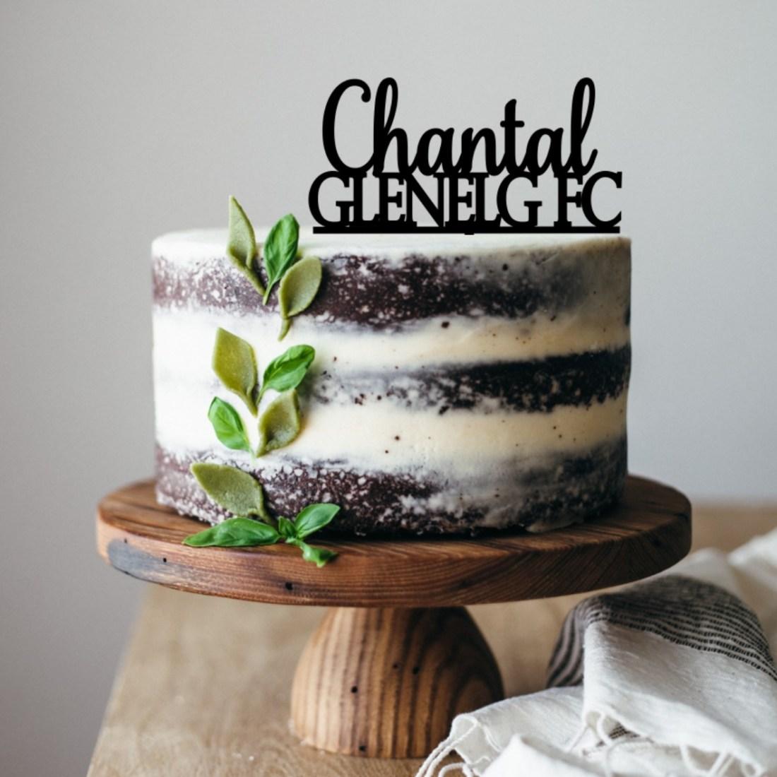 Glenelg Cake Topper