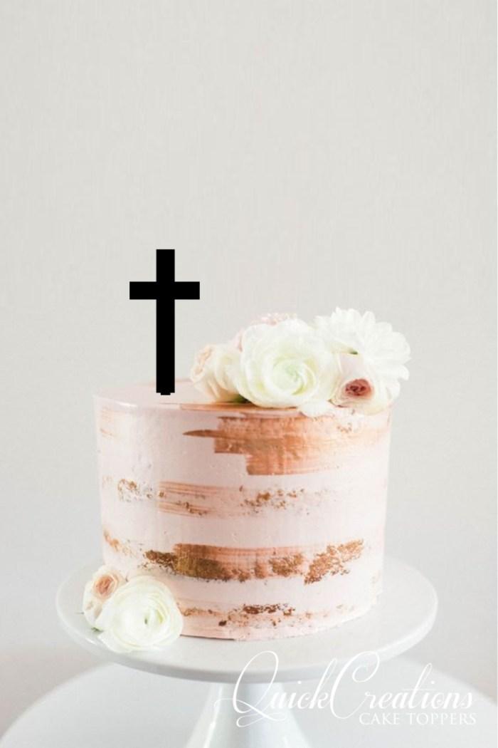 Quick Creations Cake Topper - Cross v2