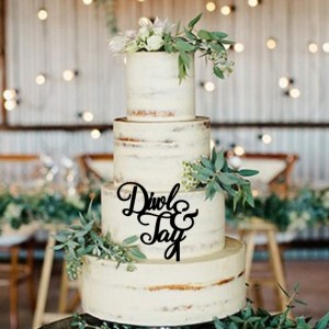 Quick Creations Cake Topper - Diwl & Tay