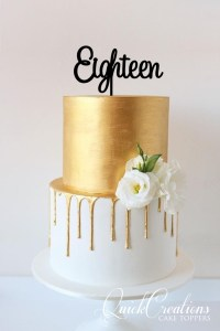 Quick Creations Cake Topper - Eighteen v7