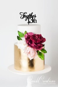 Quick Creations Cake Topper - Faythes 13th