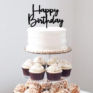 Quick Creations Cake Topper - Happy Birthday v3