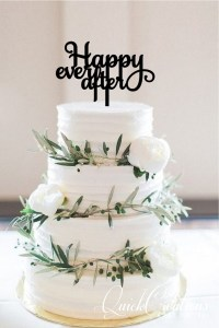 Quick Creations Cake Topper - Happy Ever After