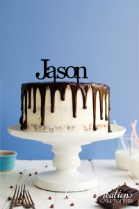 Quick Creations Cake Topper - Jason