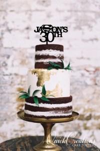 Quick Creations Cake Topper - Jasons 30 Superman Symbol