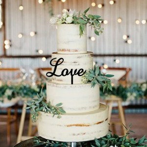 Quick Creations Cake Topper - Love