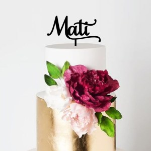 Quick Creations Cake Topper - Mati