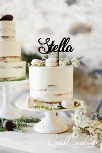 Quick Creations Cake Topper - Stella