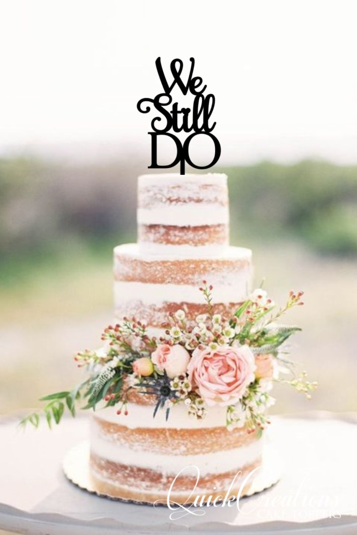 Quick Creations Cake Topper - We Still Do