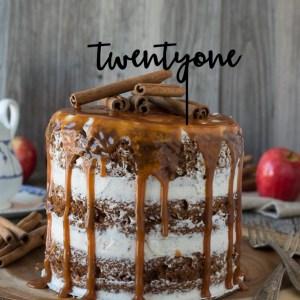 Quick Creations Cake Topper - twentyone v2