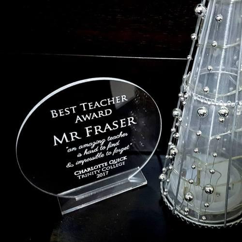Best Teacher Award Gift