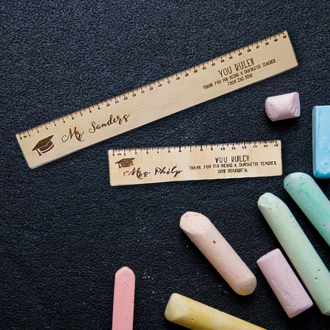 Wooden Ruler Teacher Gifts