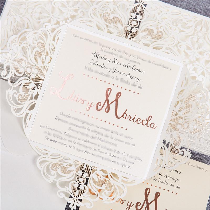 Foil Wedding Invitations.Foil Wedding Invitations