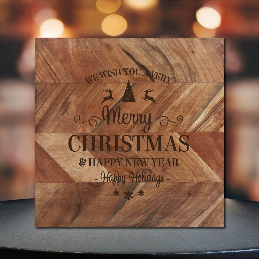Merry ChristmasChopping Board