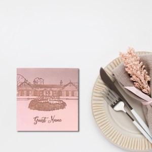 Acrylic Engraved Coaster