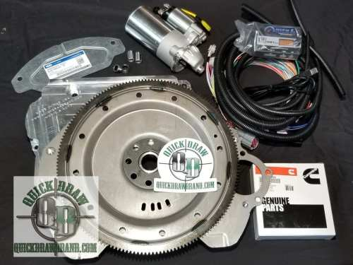 Cummins R2.8 Ford 4R100 adapter kit w us shift