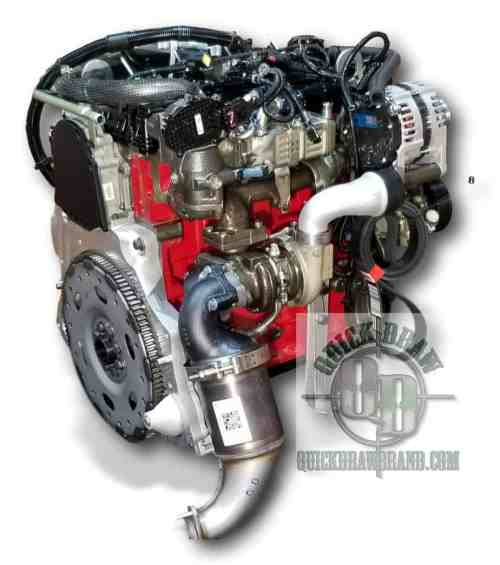 Cummins R2.8 GM automatic dual starter pocket 1