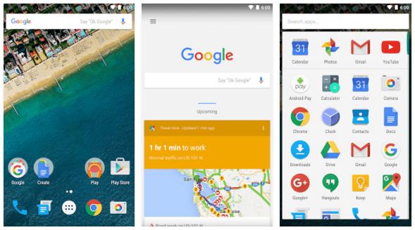 google now launcher alternative