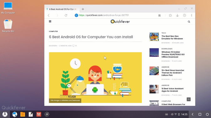 android os for pc, phoenix os