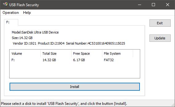 USB Flash Security
