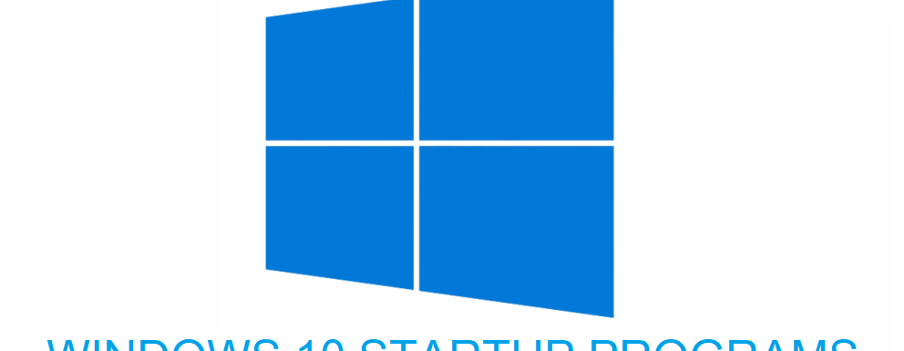 How To Add Or Remove Programs Form Startup in Windows 10